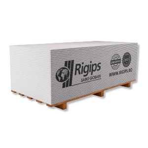 PLACA DIN GIPS-CARTON RIGIPS RB 12,5MM * 1200 MM * 2600 MM